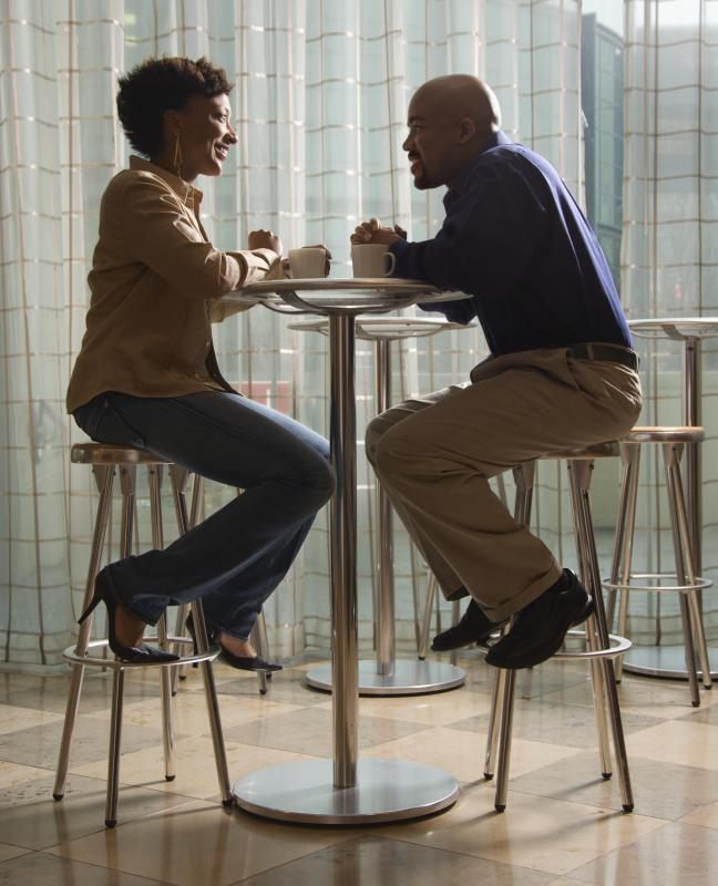 Going out for dinner or drinks can help a couple feel like they are still courting each other.