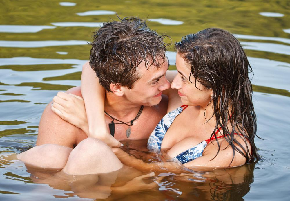 Water-based lubricate should not be used during sexual activity that occurs in water.