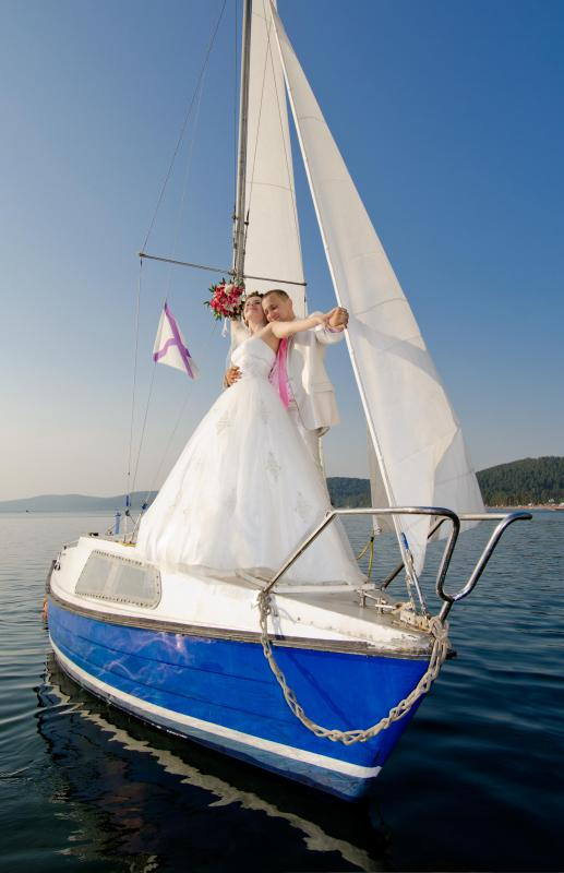 The British Virgin Islands are popular for weddings and honeymoons.