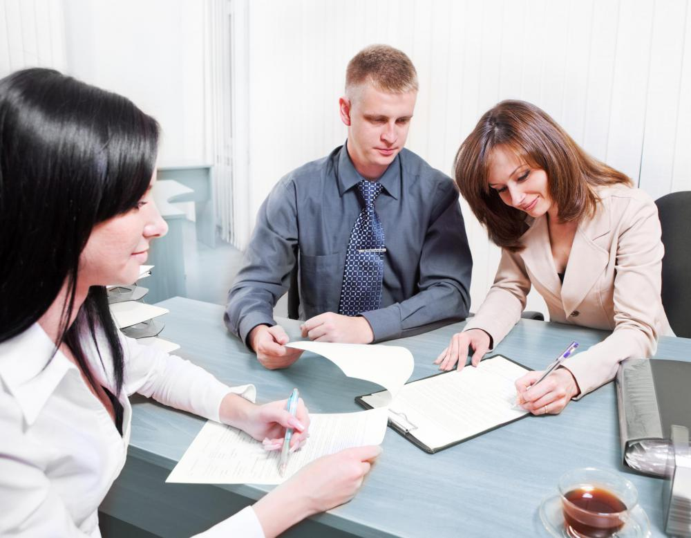 A trained credit counselor works as a liason between the borrowers and their creditors.