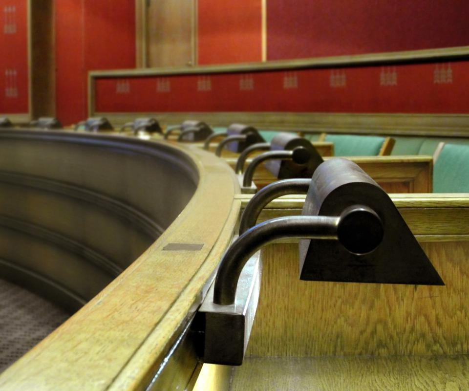 Juries allow peers to help make court decisions.