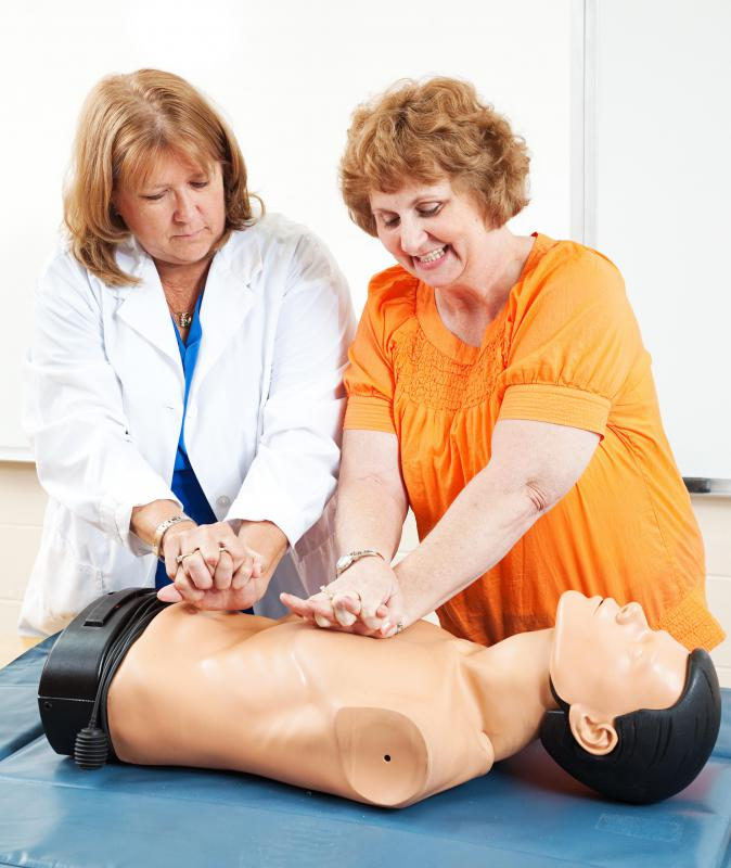 Home health nurses are trained to perform CPR.