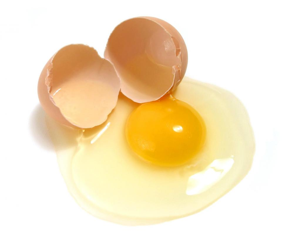 Eggs are a good source of lean protein.