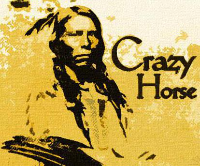 Crazy Horse led a charge against General Custer and his troops during Custer's Last Stand.