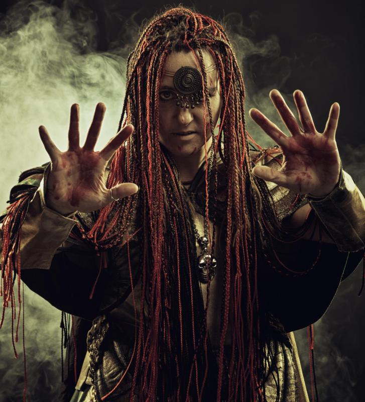 The role of witch doctor was often passed down from one generation to another.
