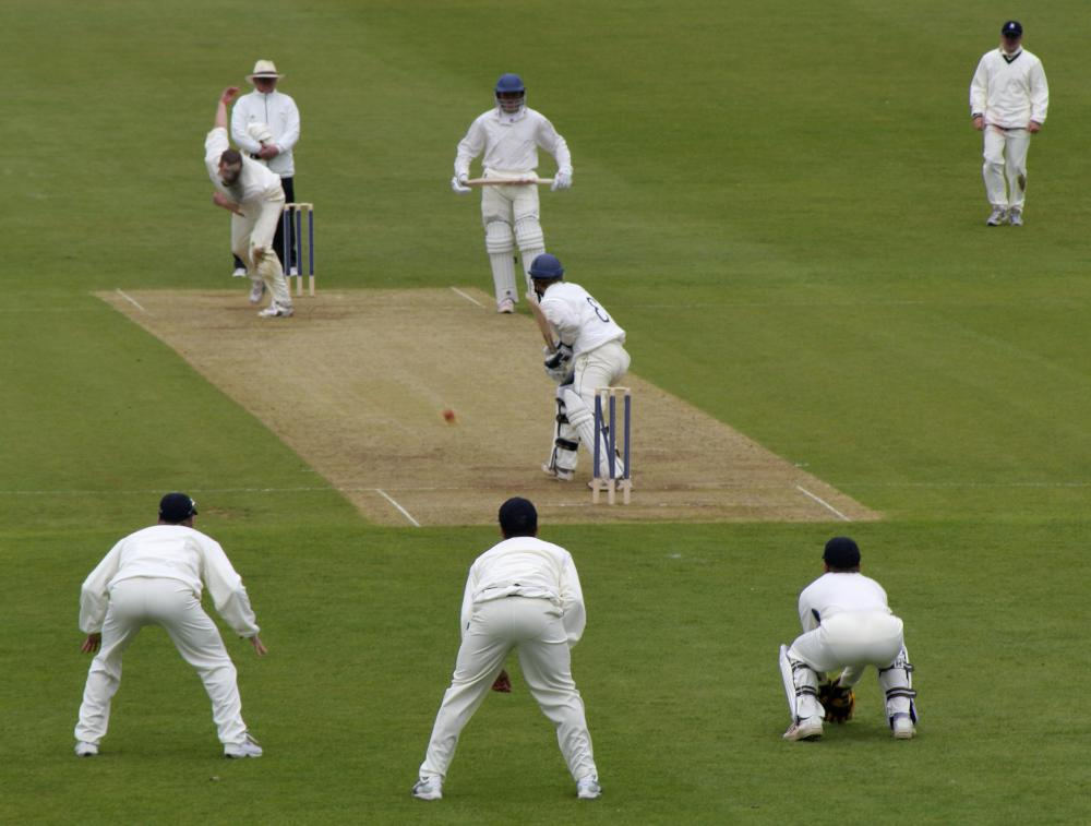 "A cricket batsman might ""box clever"" by choosing his shots wisely."