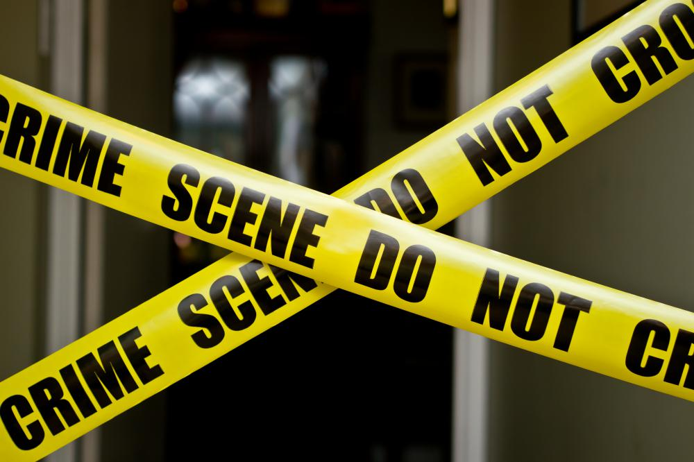 Police detectives are responsible for investigating crime scenes.