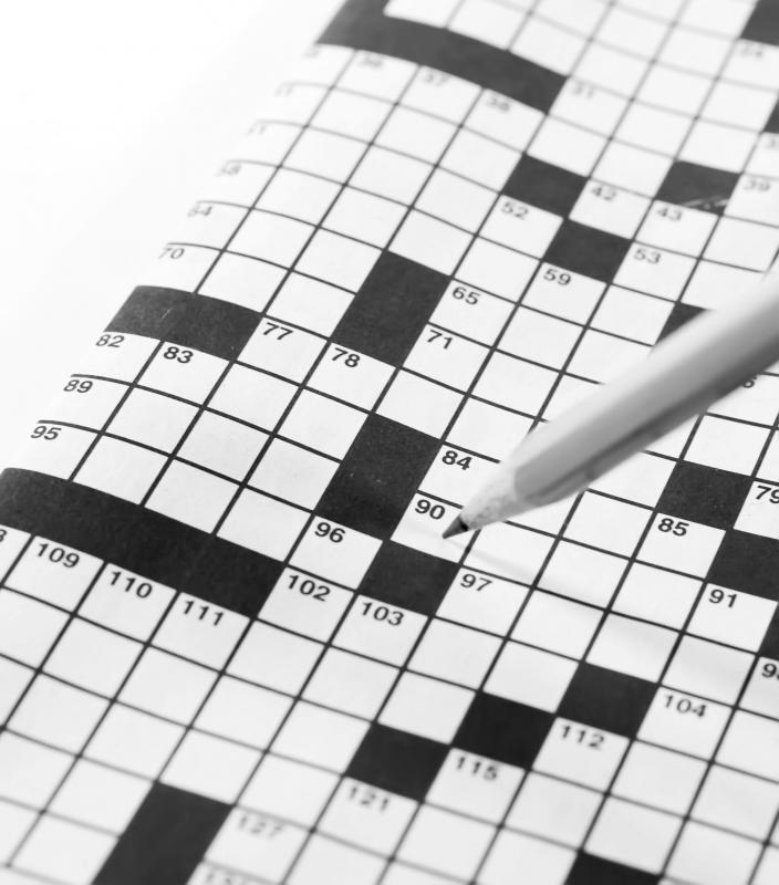 Crossword puzzles can help improve concentration.