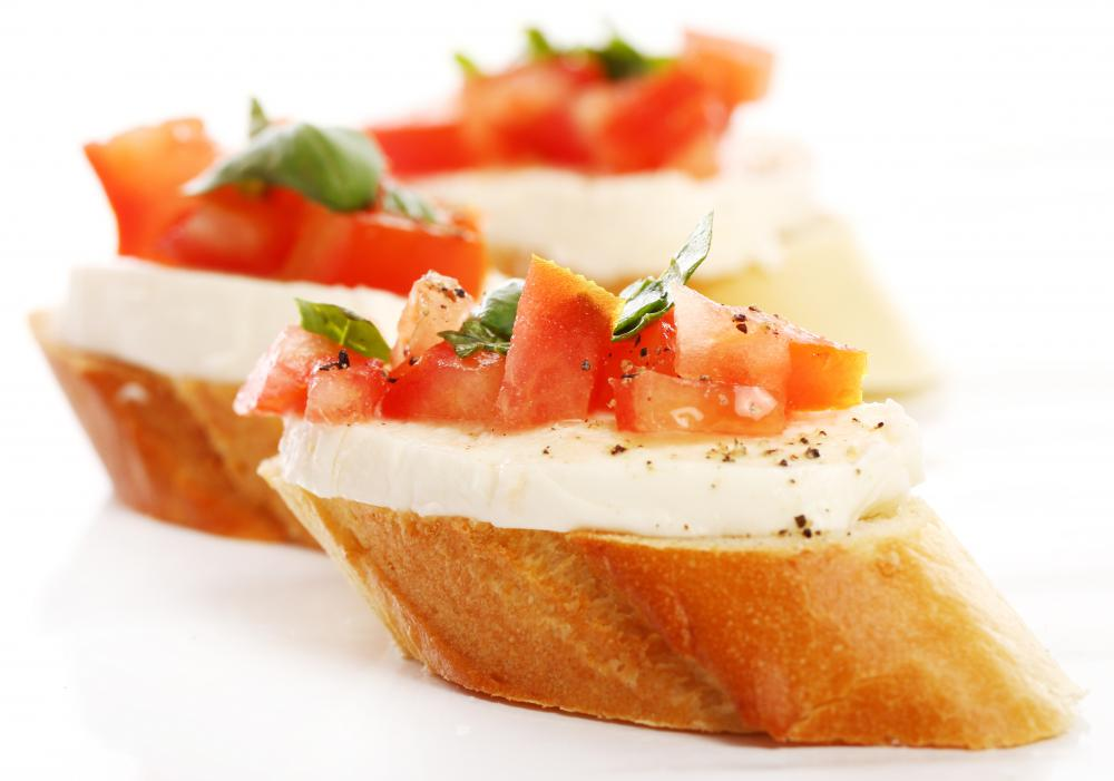 Appetizers or starters usually compliment a main meal at full course restaurants.