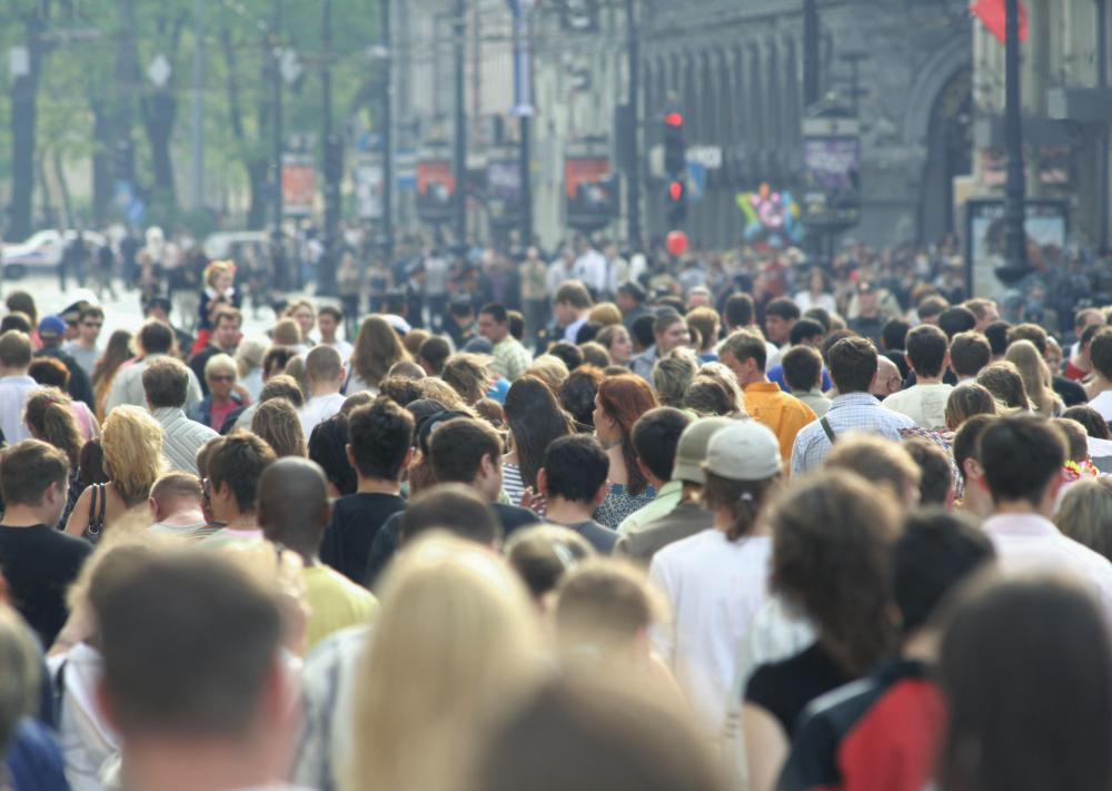 People with demophobia experience a fear of crowds.
