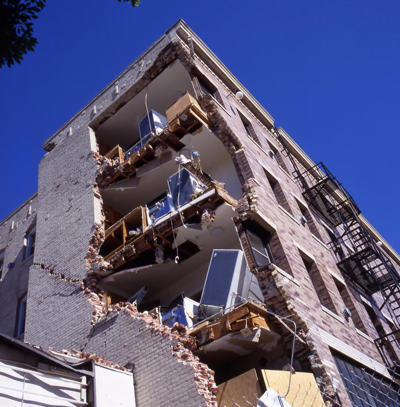 There is no such thing as an earthquake-proof structure.