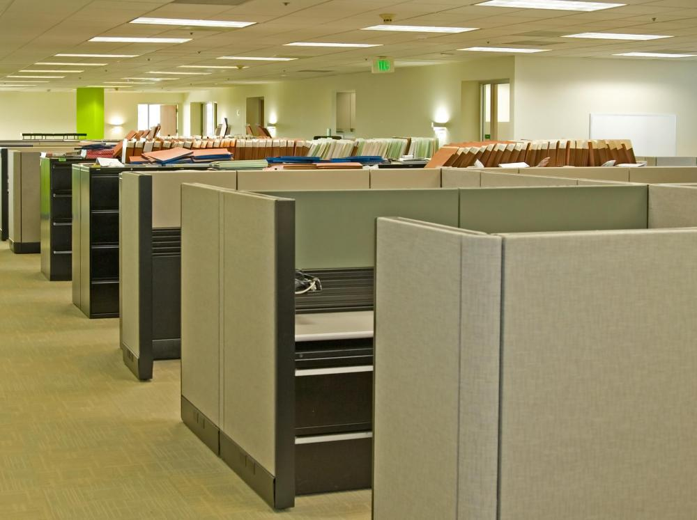 Some people may fear the confines of a cubicle.