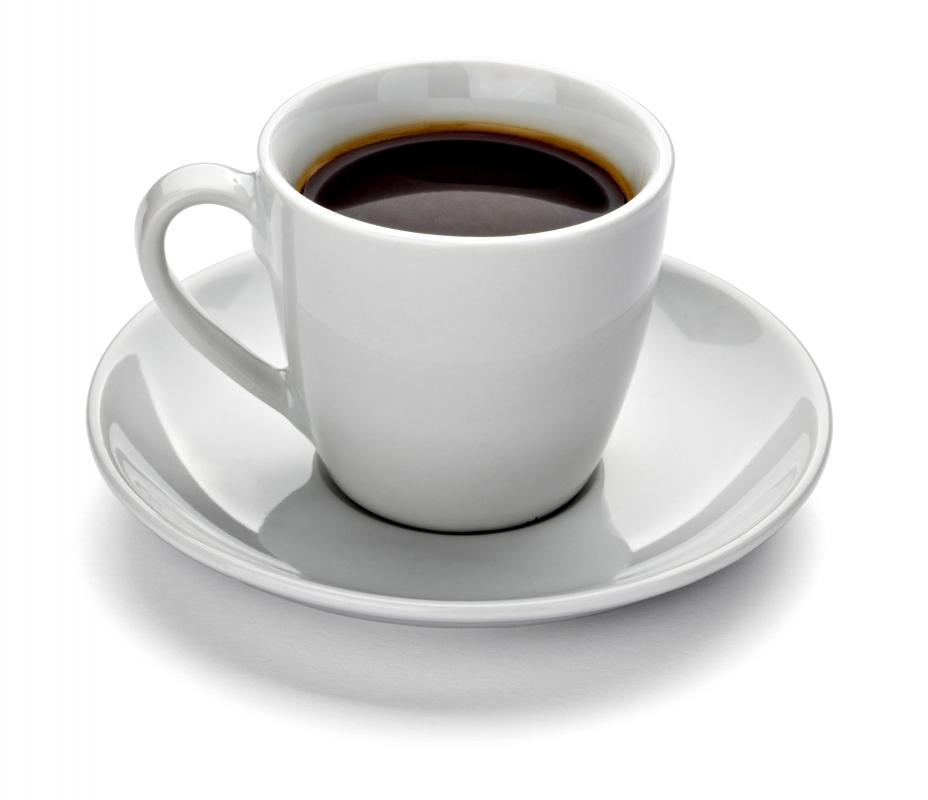 Many people enjoy a Danish with a cup of coffee.