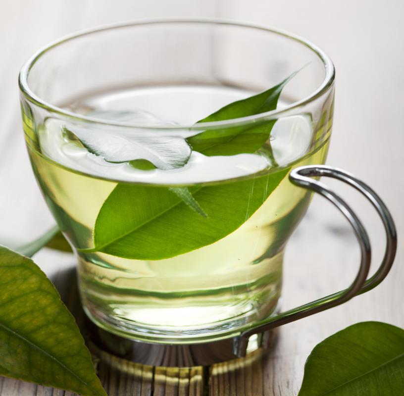 Green tea typically has up to 10 times more antioxidant polyphenols than fruits and vegetables.