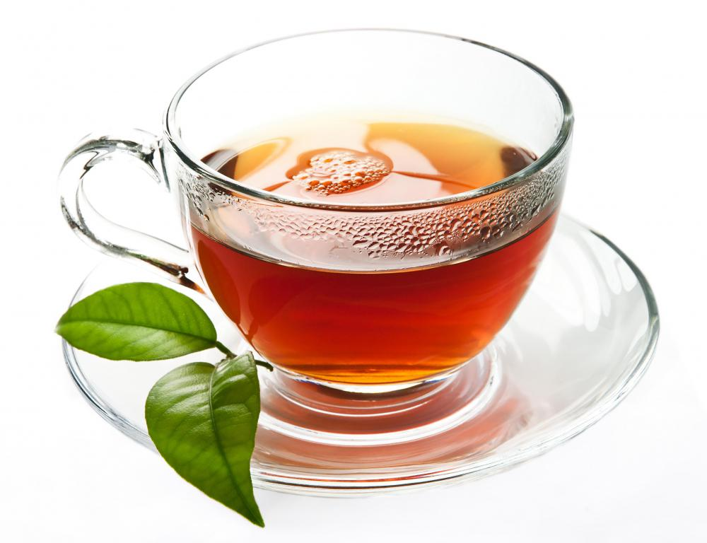 Basil tea may help promote healthy skin.