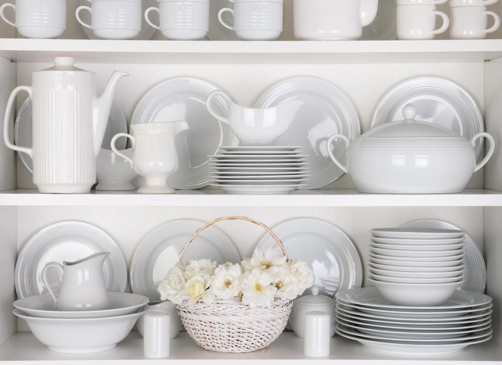 It is important to consider storage and cupboard sizes when purchasing dinnerware.