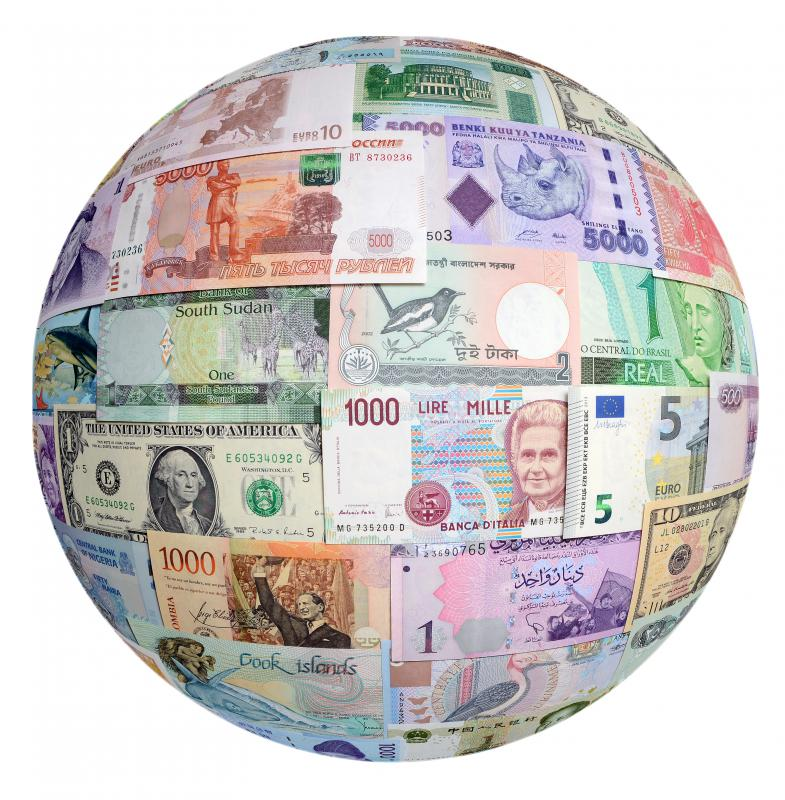 A monetary union is when two or more sovereign countries using the same unit of currency.