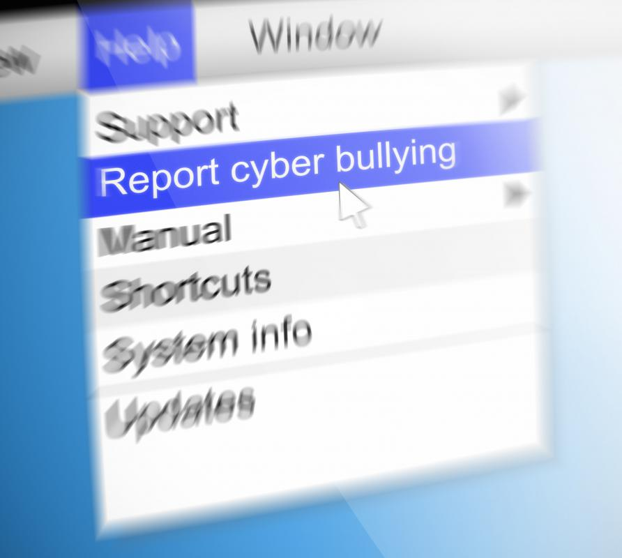 Cyber bullying should be documented so it can be reported to authorities.