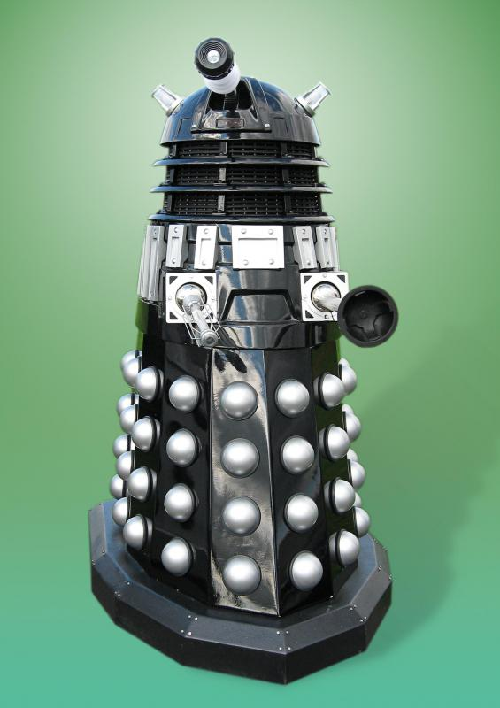 "Cybernetic lifeforms, such as daleks from ""Doctor Who,"" are often featured in science fiction stories."
