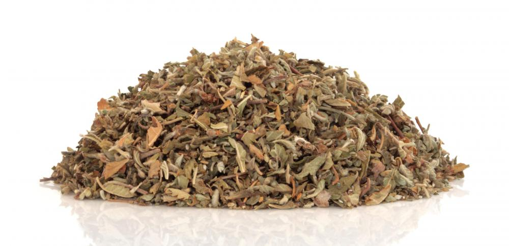 Damiana is often sold in dried loose leaf form.
