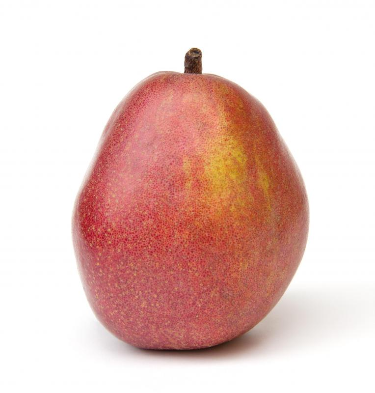 Organic pears are healthier than  those grown conventionally.