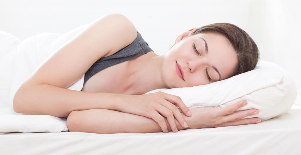 Amino acids can help promote good sleep patterns.