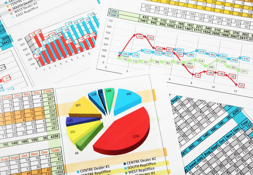 Different types of information are best illustrated with different types of charts, graphs, or graphics.