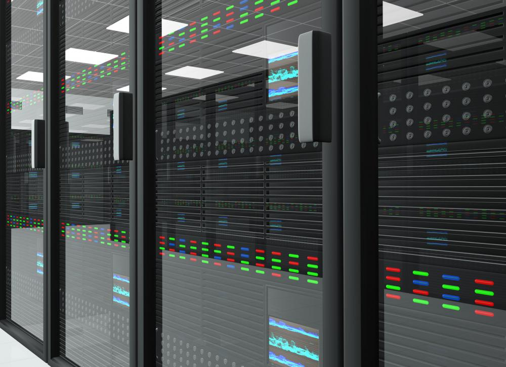 A data center technician may monitor and evaluate servers.