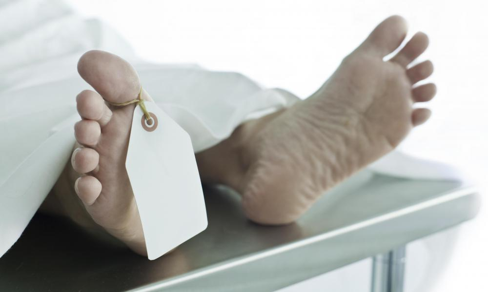 A medical examiner assistant may help with conducting autopsies.