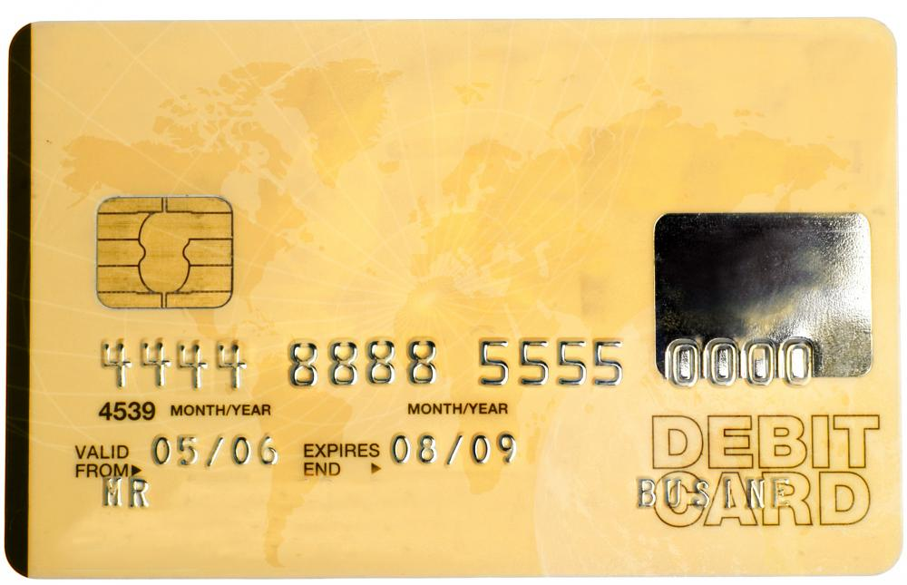 Fees are often charged to a merchant when a consumer uses a debit card to pay.