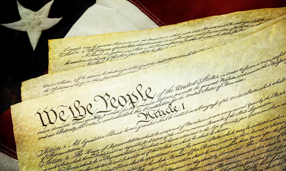 The Constitution is the supreme law of America.