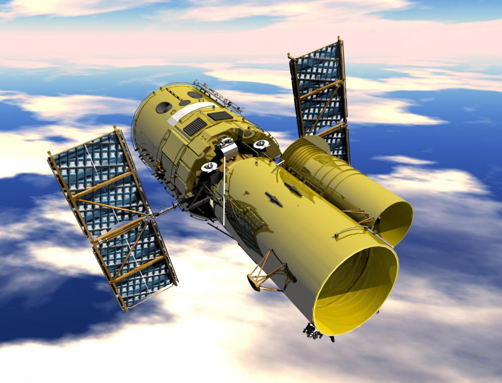 Cold tests might be performed on parts of a space telescope.