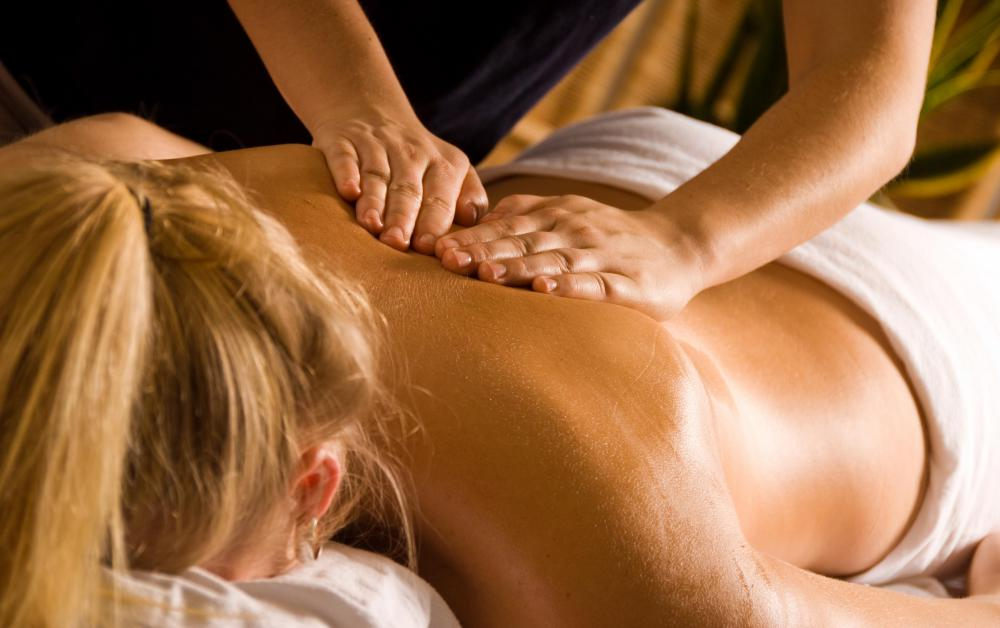 Deep tissue massage may result in soreness afterward.