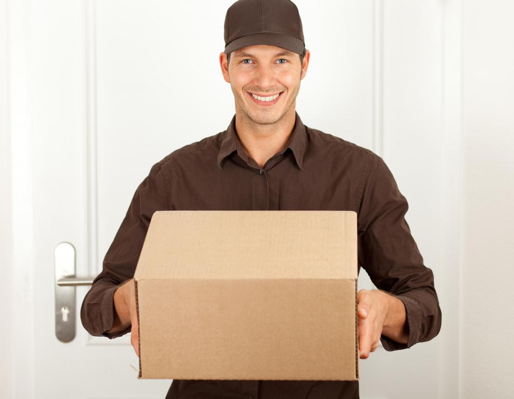 Courier services are known for quick delivery times.