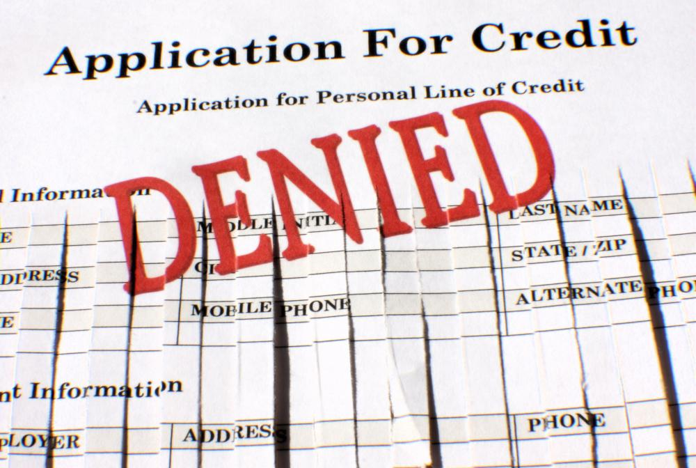 Financial institutions are required to report on all applications made for loans, including applications that were denied.