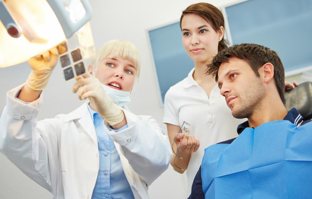 Cosmetic dentists may need to use radiography to get an accurate view of the mouth.