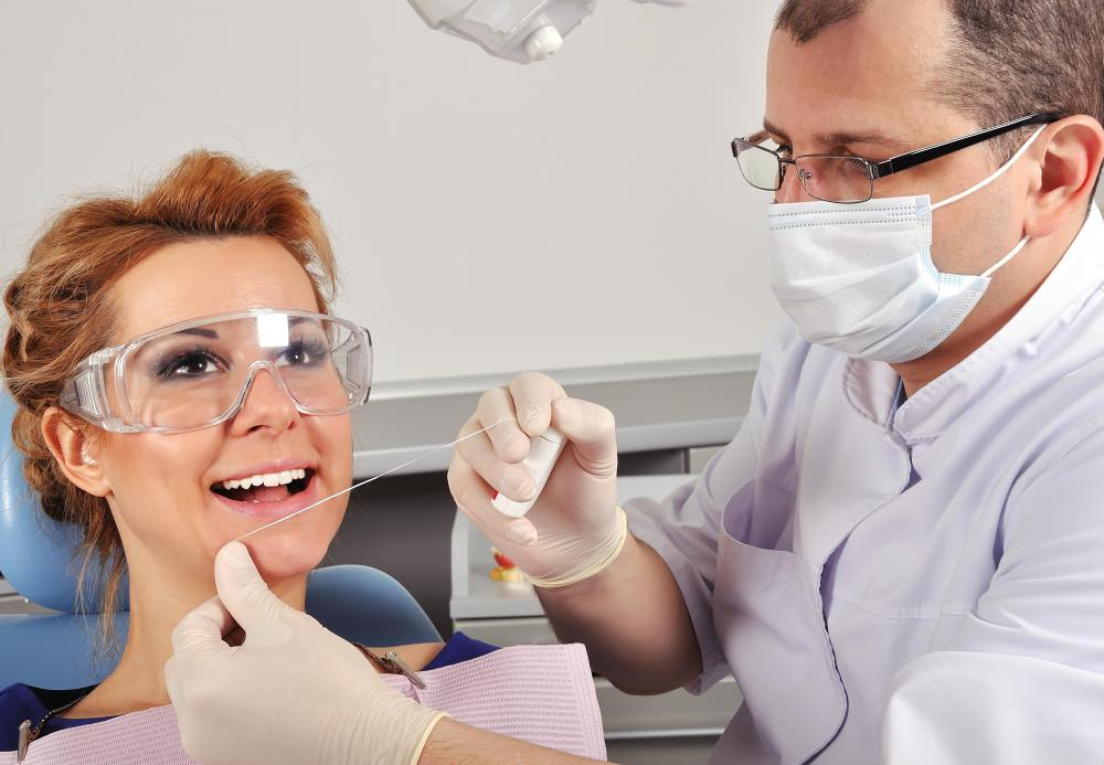Dental impressions may be used to help dental students recognize dental problems.