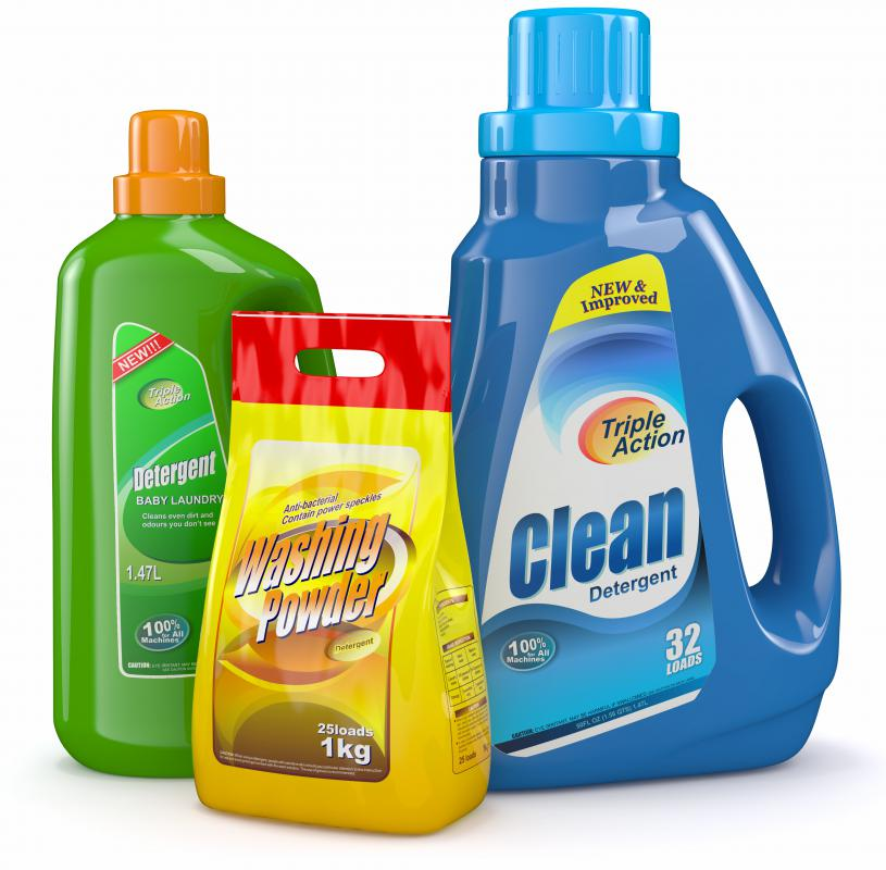 Tactel can be cleaned with a mild detergent.