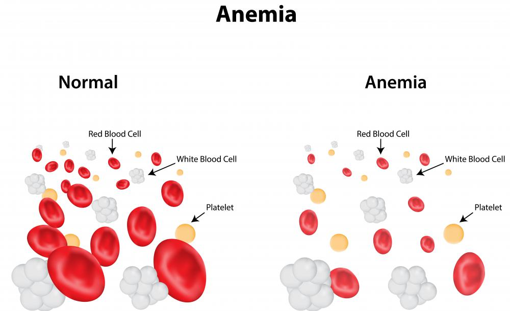 Erythropoietin may be used to treat anemia, as it can boost red blood cell count.