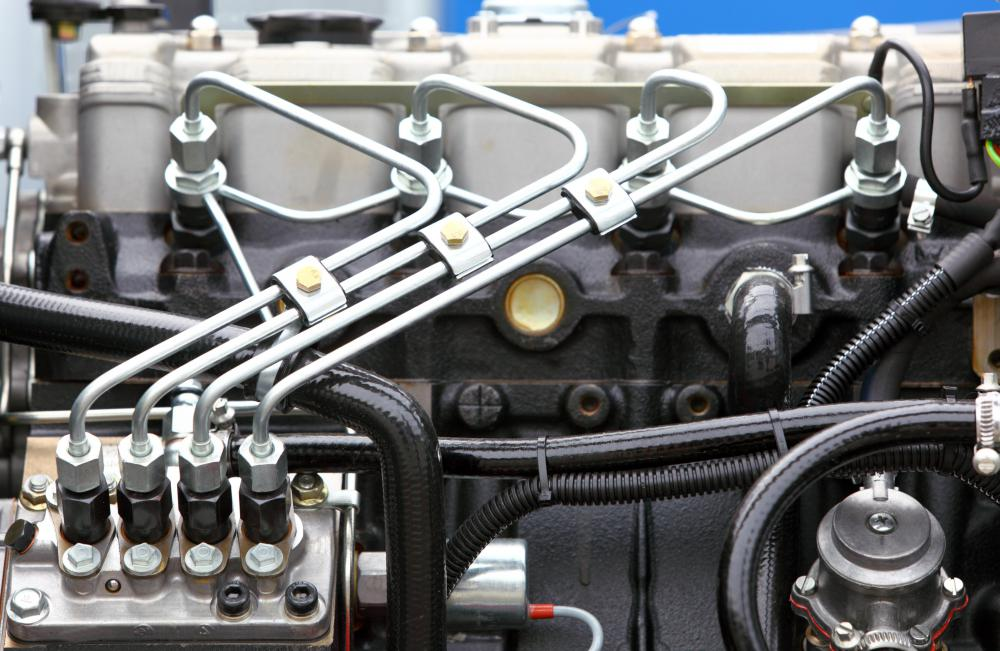 "fuel injection in diesel engines Diesel engines need a a mechanical pump makes the high pressure necessary for diesel fuel injection and delivers fuel to a ""common rail"" which supplies."