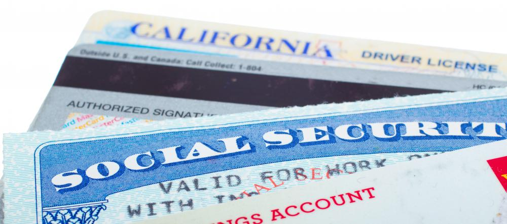 Social Security cards and driver's licenses carry information that can be stolen and illegally used by identity thieves.