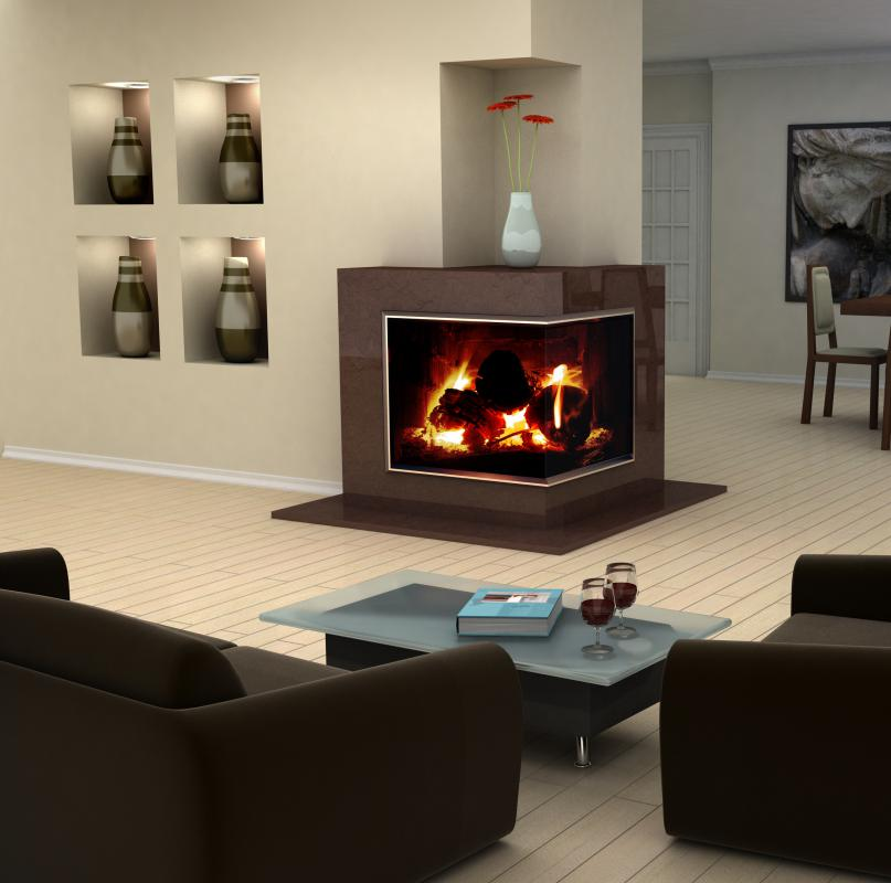 Living Rooms with Corner Fireplace Design 807 x 800