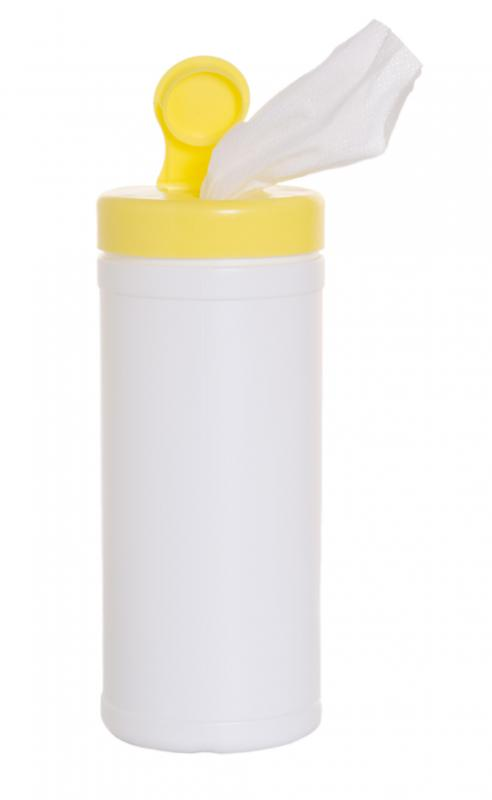 Disinfecting wipes can kill germs and viruses on household surfaces.