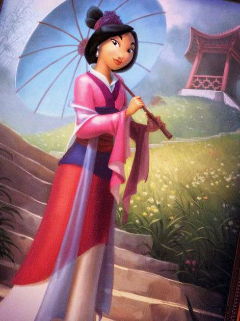 The story of Mulan was the subject of a 1998 Disney film by the same name.