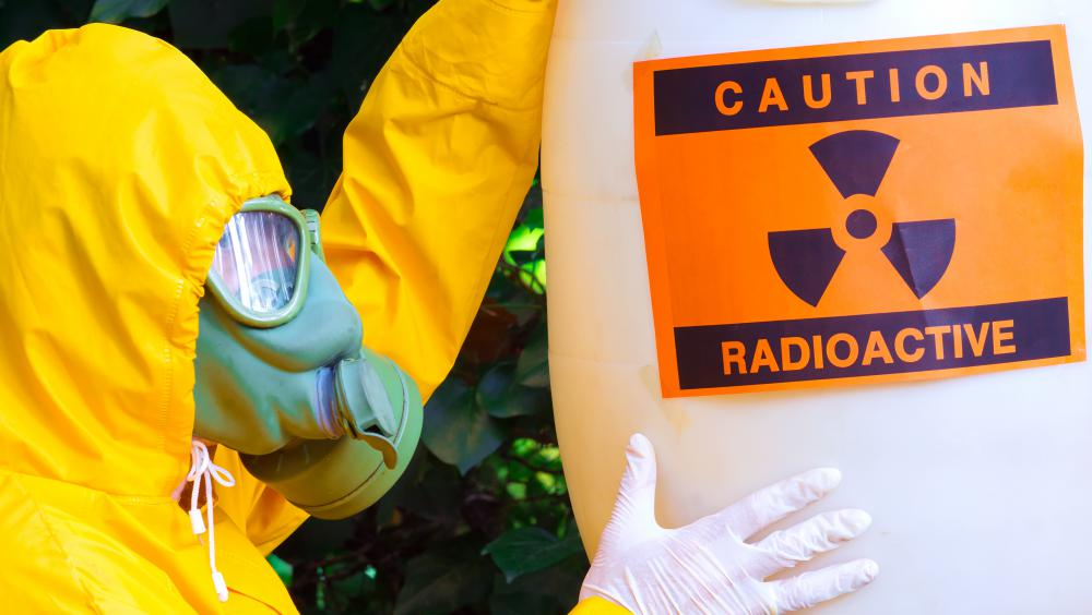 Radiation can cause burns, poisoning and other injuries that require emergency care.
