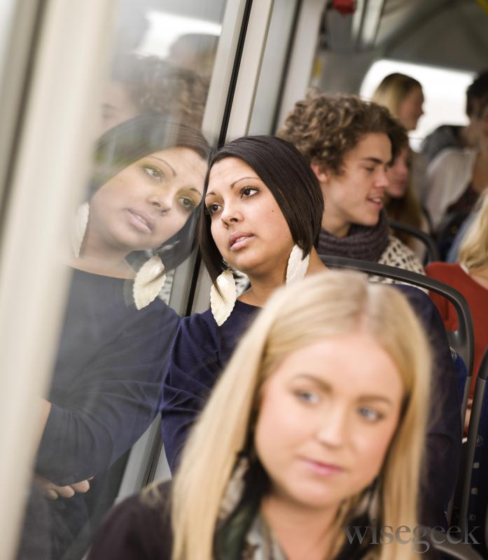 A person with demophobia might have trouble using public transit.