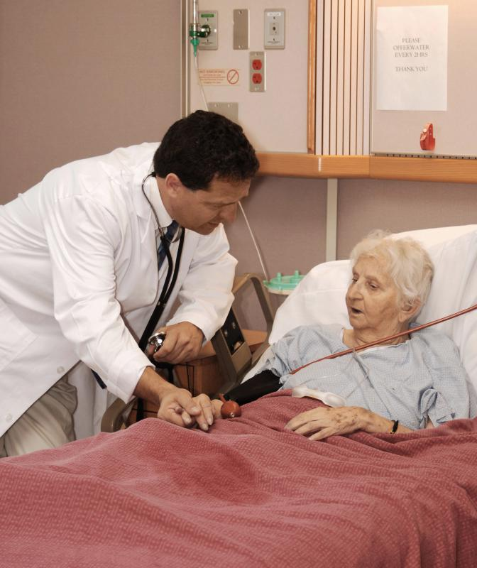 A primary care doctor might be a physician in the geriatrics field.