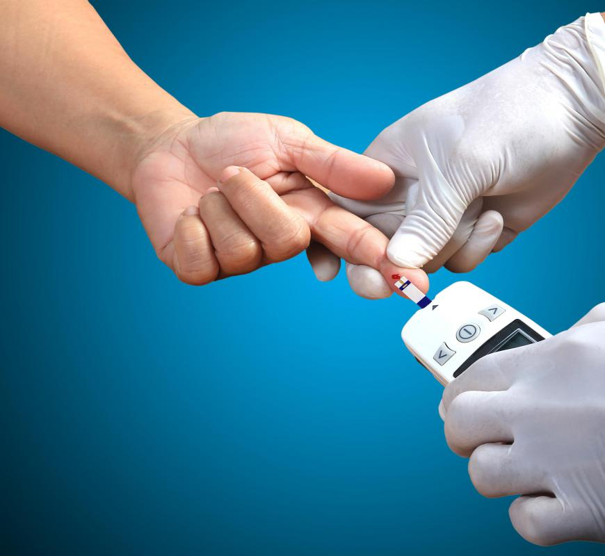 Diabetes is a possible health complication for individuals who live a sedentary lifestyle.