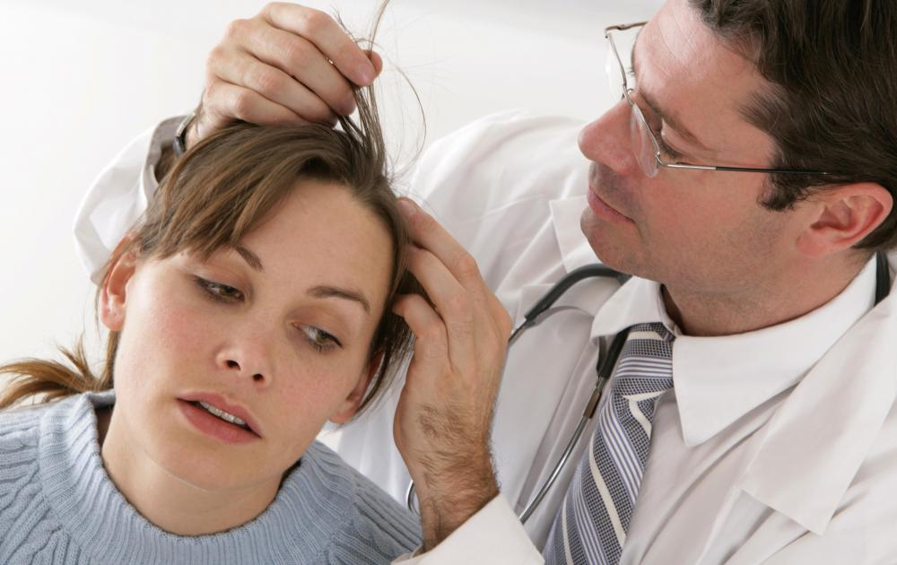 If a scalp rash exhibits signs of an infection, a doctor should be consulted.