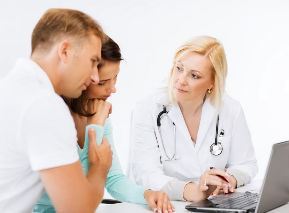 Consulting with a patient is one step in finding the best treatment options for that patient.